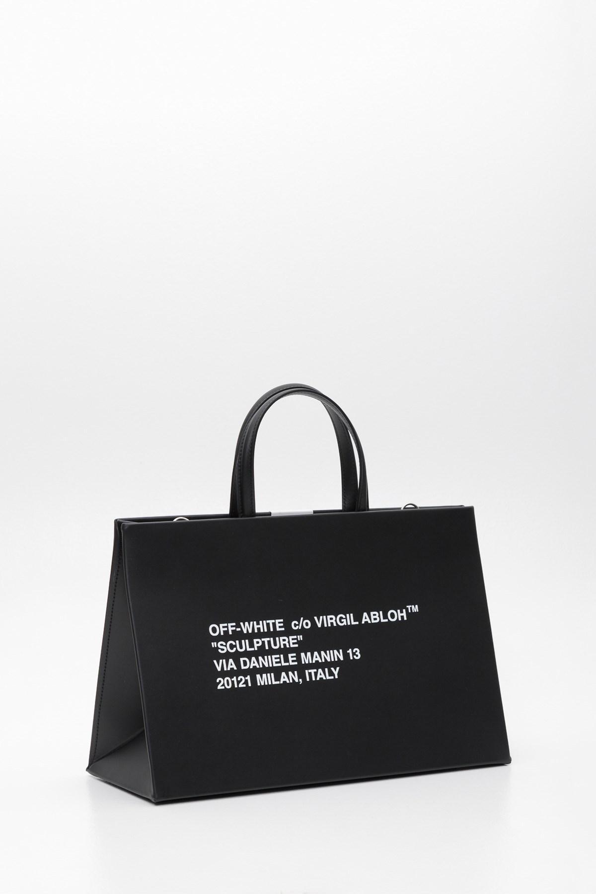 40881e22d Lyst - Off-White c/o Virgil Abloh Box Bag in Black