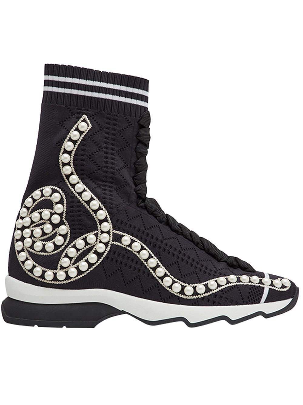 Fendi Open knit sneakers SnpbdbHJ3