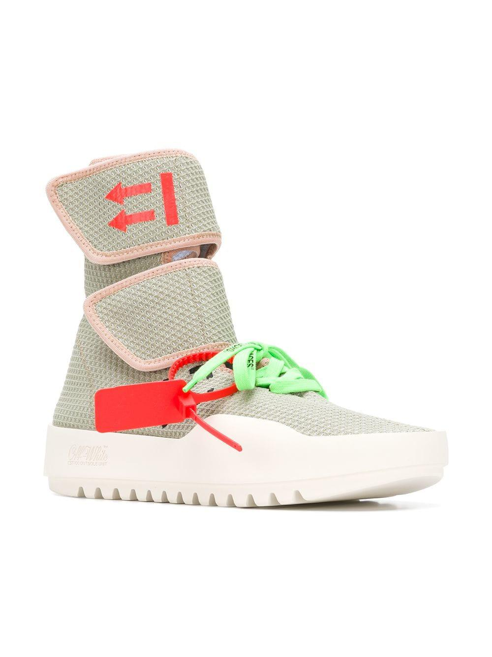8a10cc5fd084 Off-White c o Virgil Abloh Velcro Sneakers for Men - Save 11% - Lyst