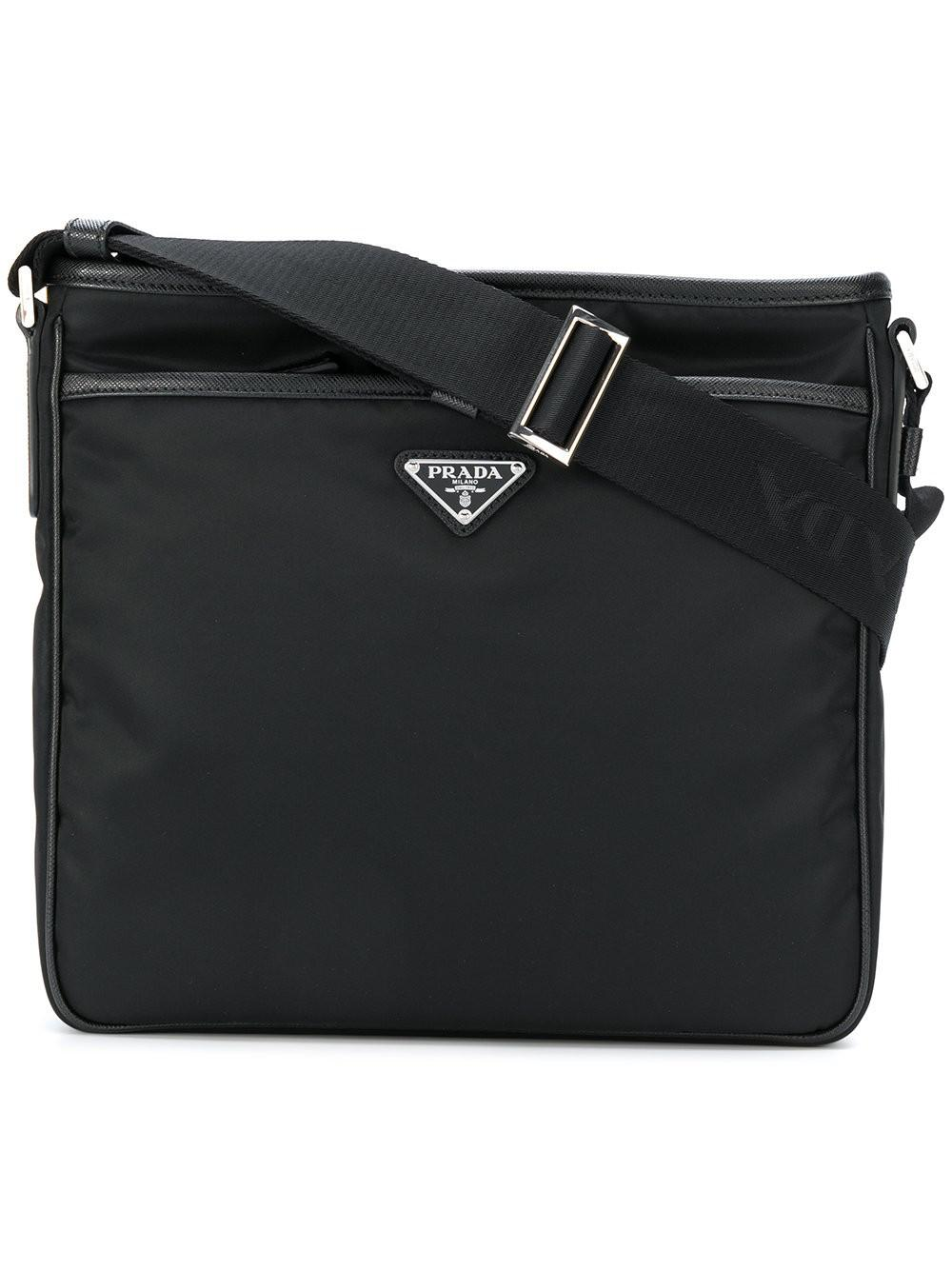 Prada Safety buckle fastening shoulder bag h4kObMIU3