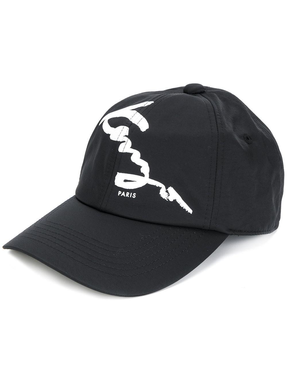 d37d91f2836 Lyst - KENZO Signature Baseball Cap in Black for Men
