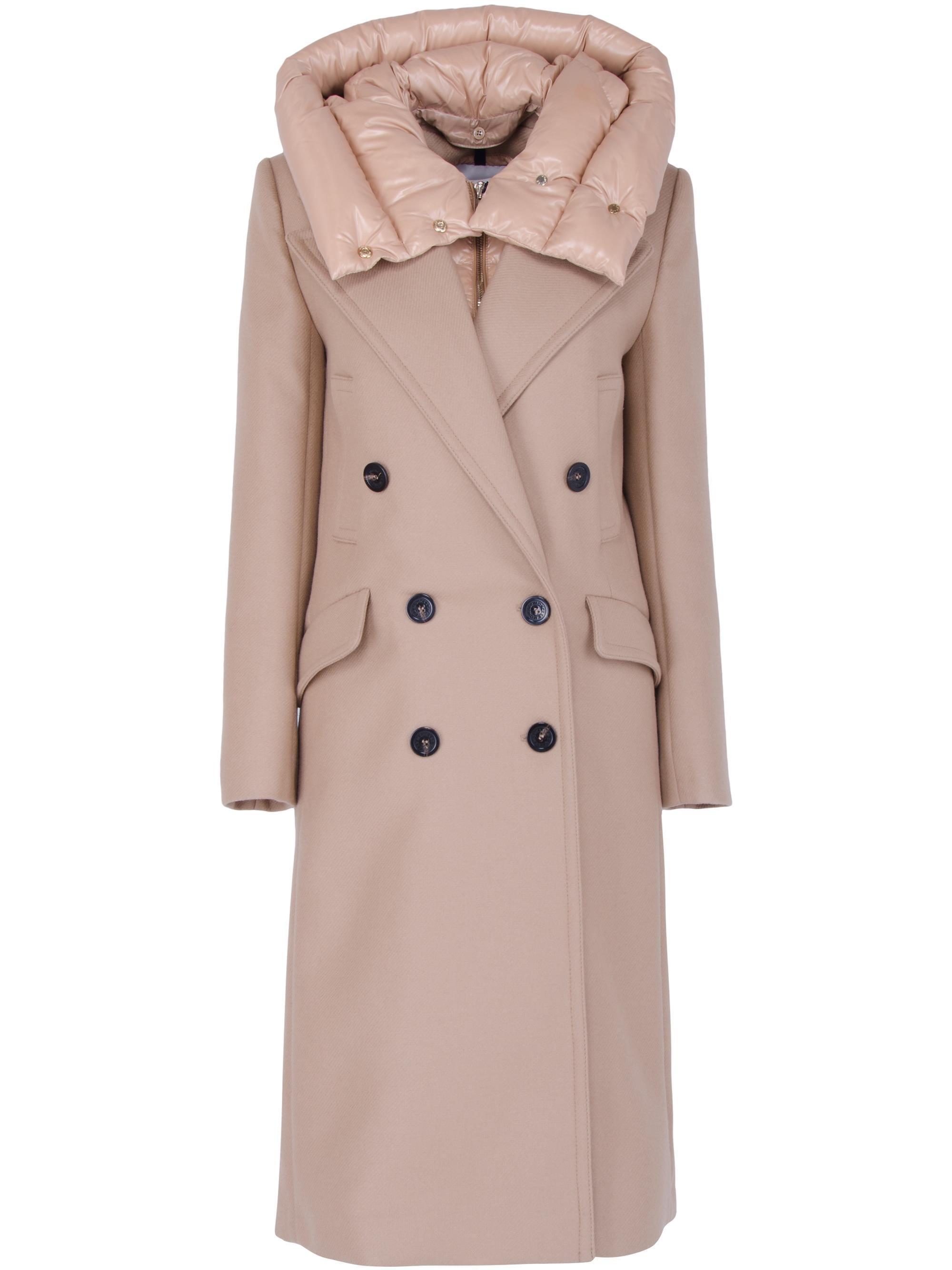 moncler tan coat