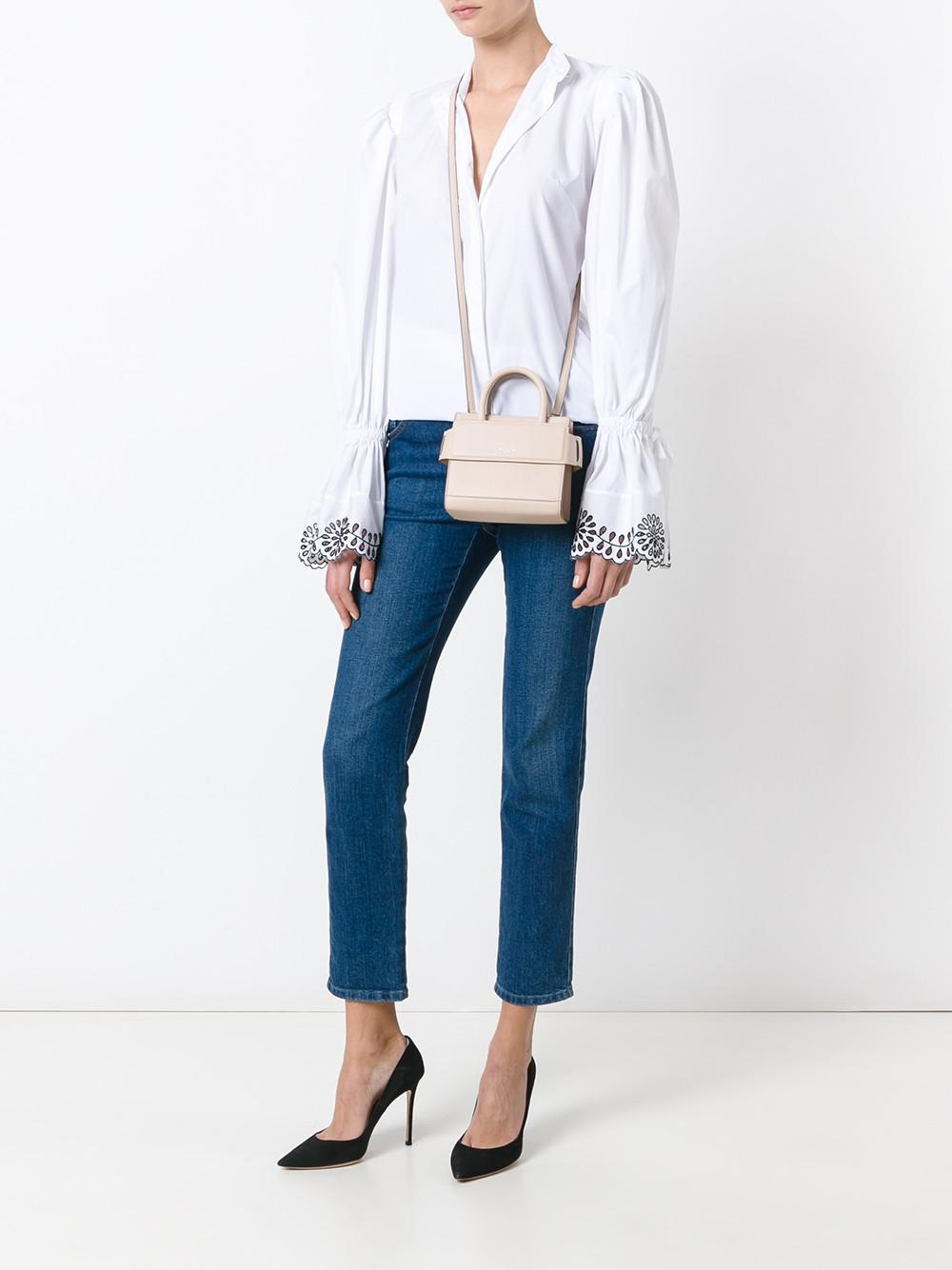 30804512c1 Lyst - Givenchy Horizon Nano Leather Crossbody Bag