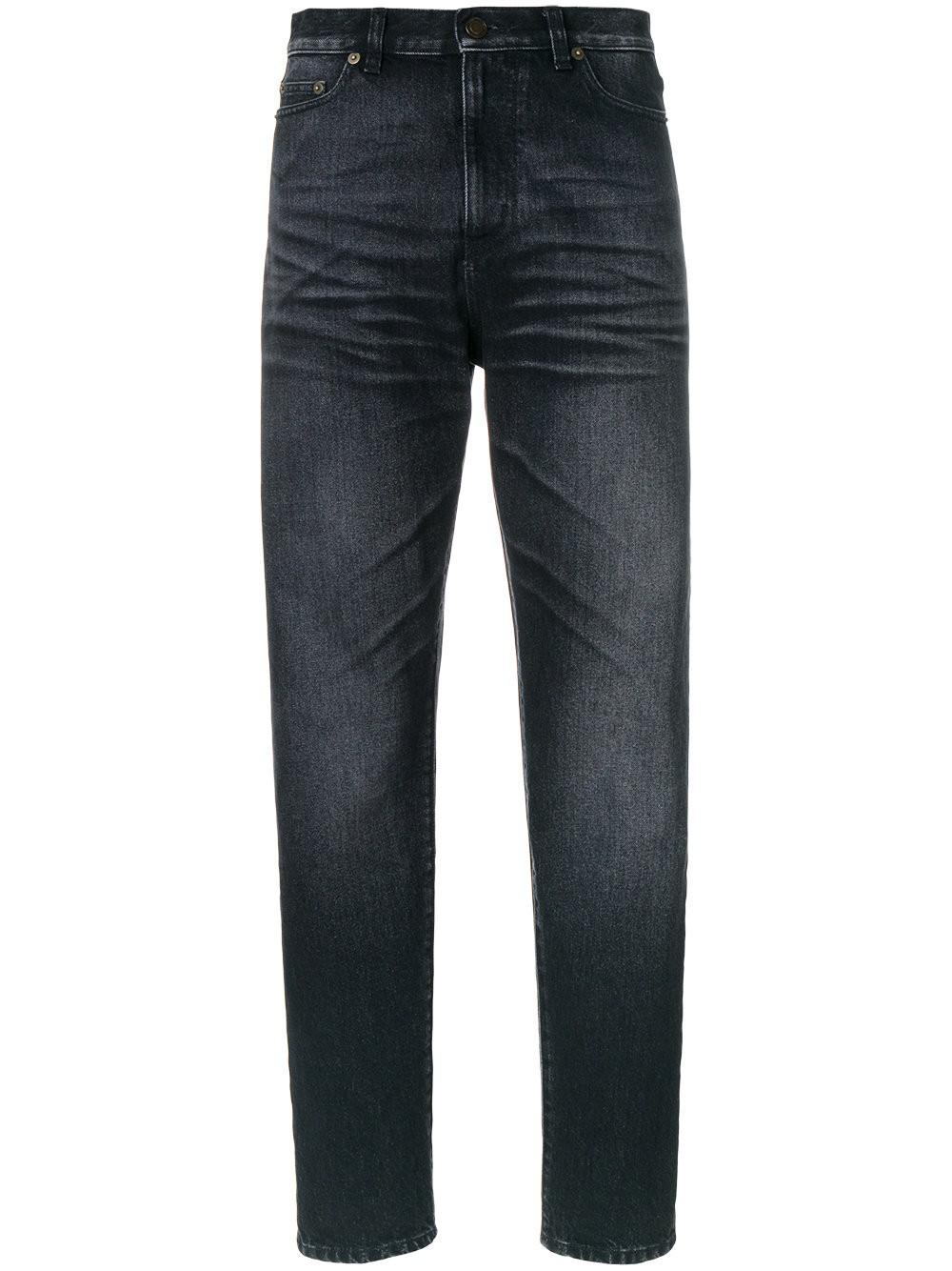 shadow pocket stonewashed baggy jeans - Black Saint Laurent Best Store To Get Buy Cheap Classic 3gUg7