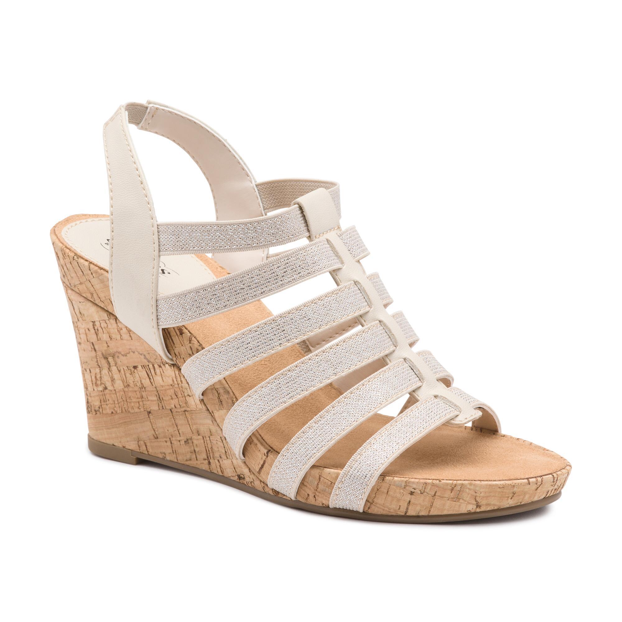 comforter sandals fixed orange adjustable burnt wedge main slide sandal comfort womens marilyn