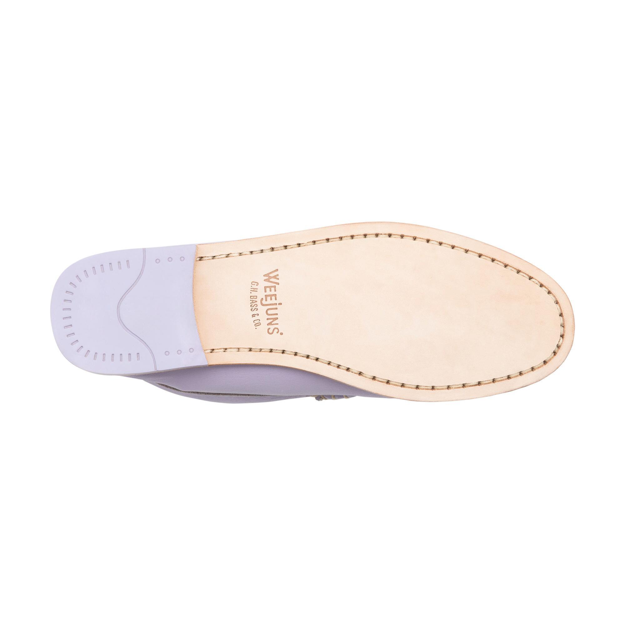 3cd537217e4 Lyst - G.H.BASS Whitney Natural Sole Weejuns in Purple