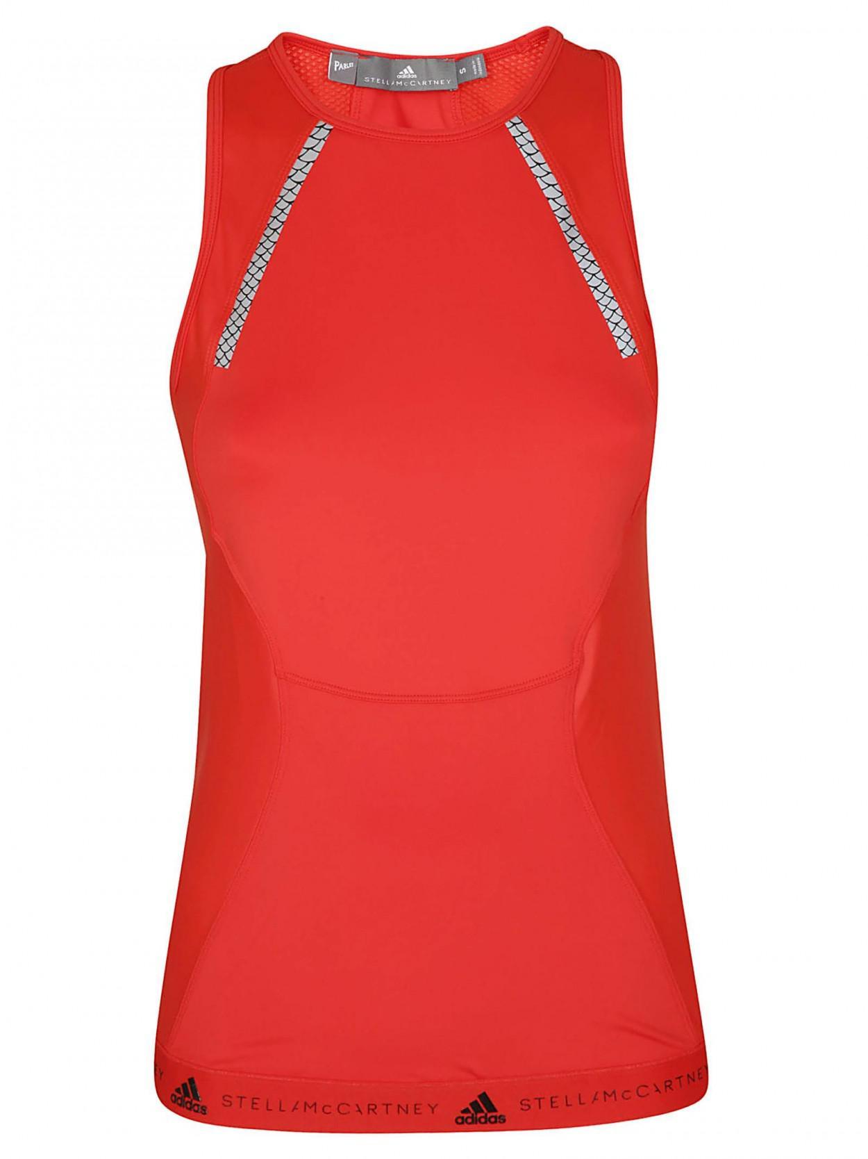 3e689acabf adidas By Stella McCartney. Women s Red ADIDAS BY STELLA MCCARTNEY Top run  tank rosso