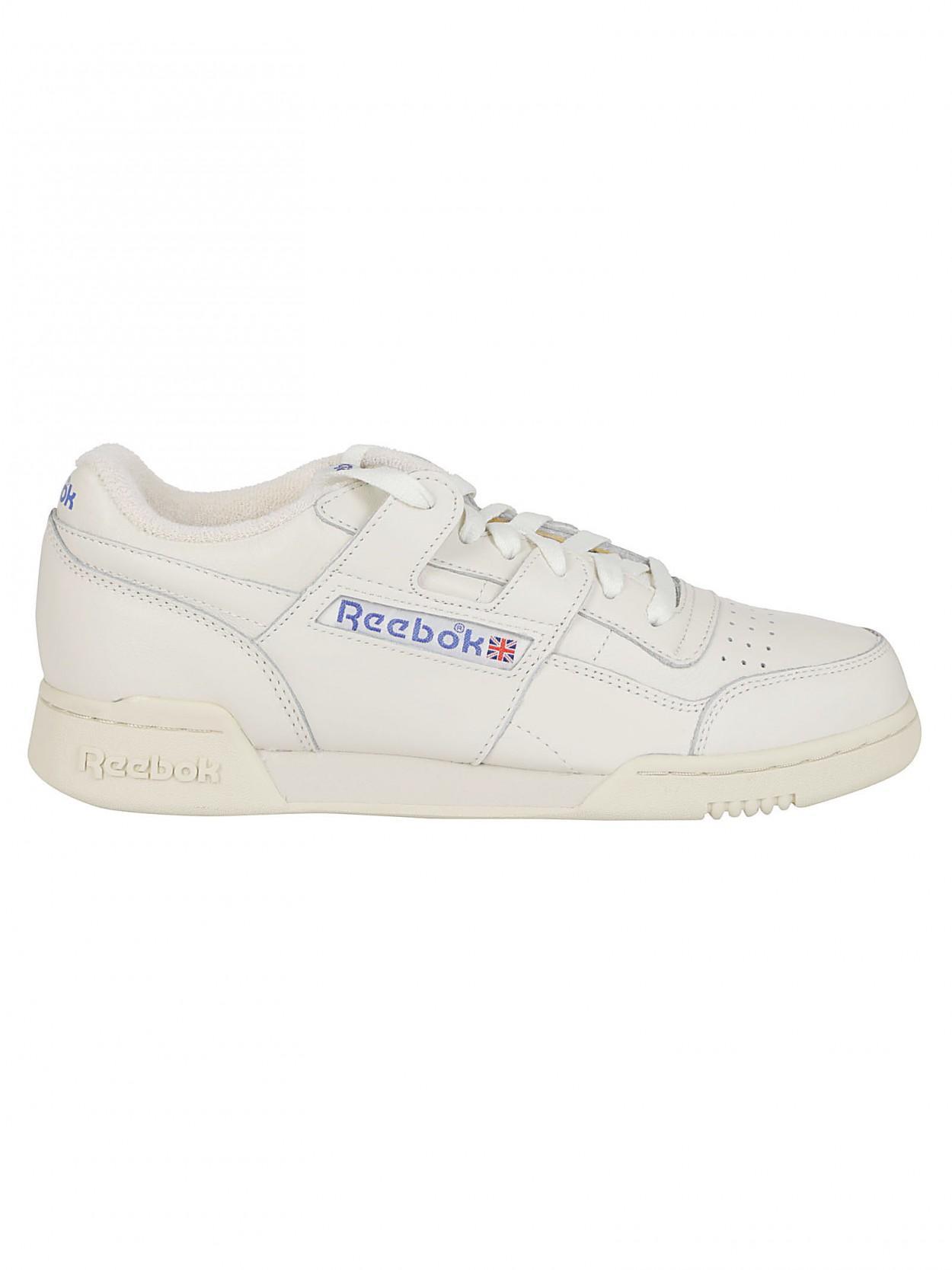 ... REEBOK sneaker workout plus 1987 bianca for Men - Lyst. View fullscreen 254cf2db3