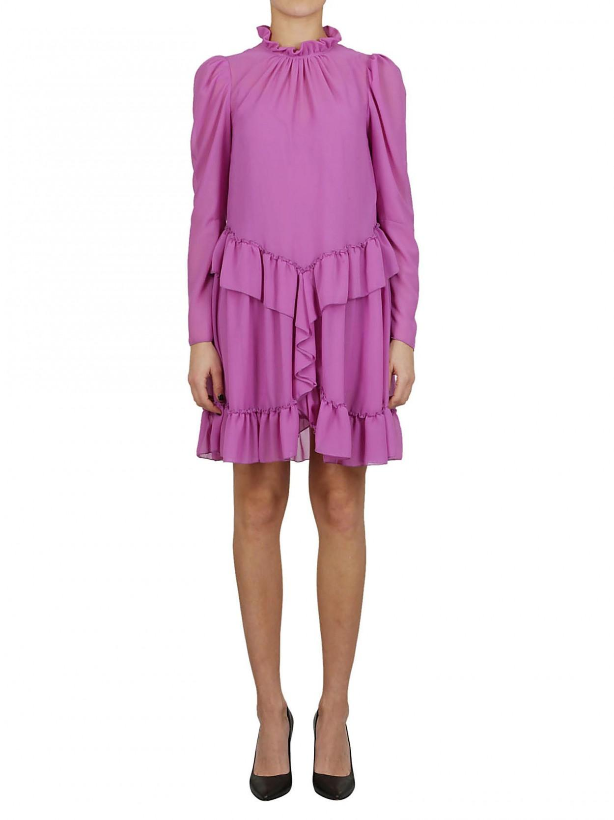 964af45ad14d See By Chloé SEE BY CHLOE  abito lilla a balze in Purple - Lyst