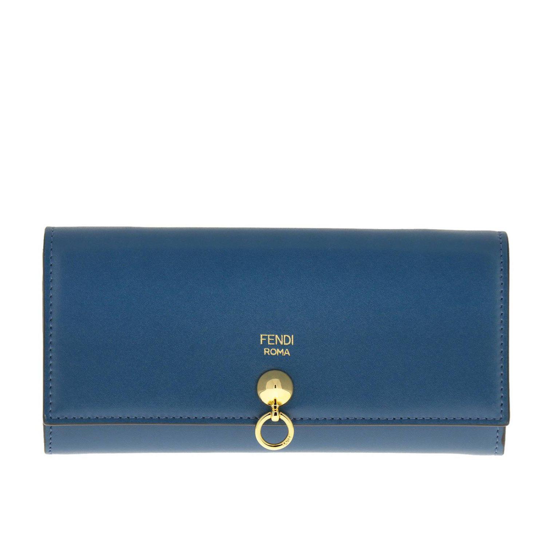 c021a679b1 Lyst - Fendi Wallet Women in Blue