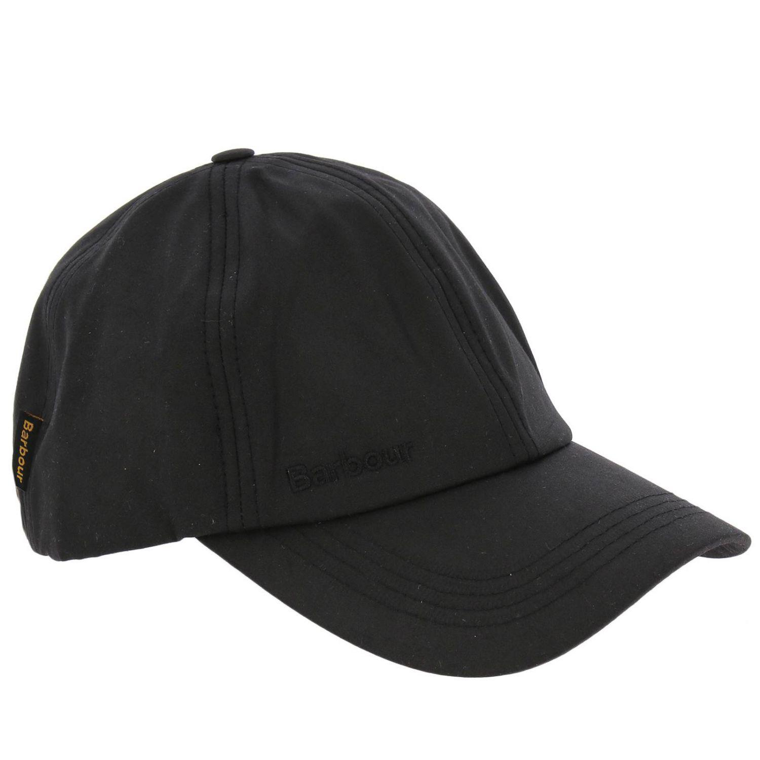bc922583e12 Barbour Hat Men in Black for Men - Lyst