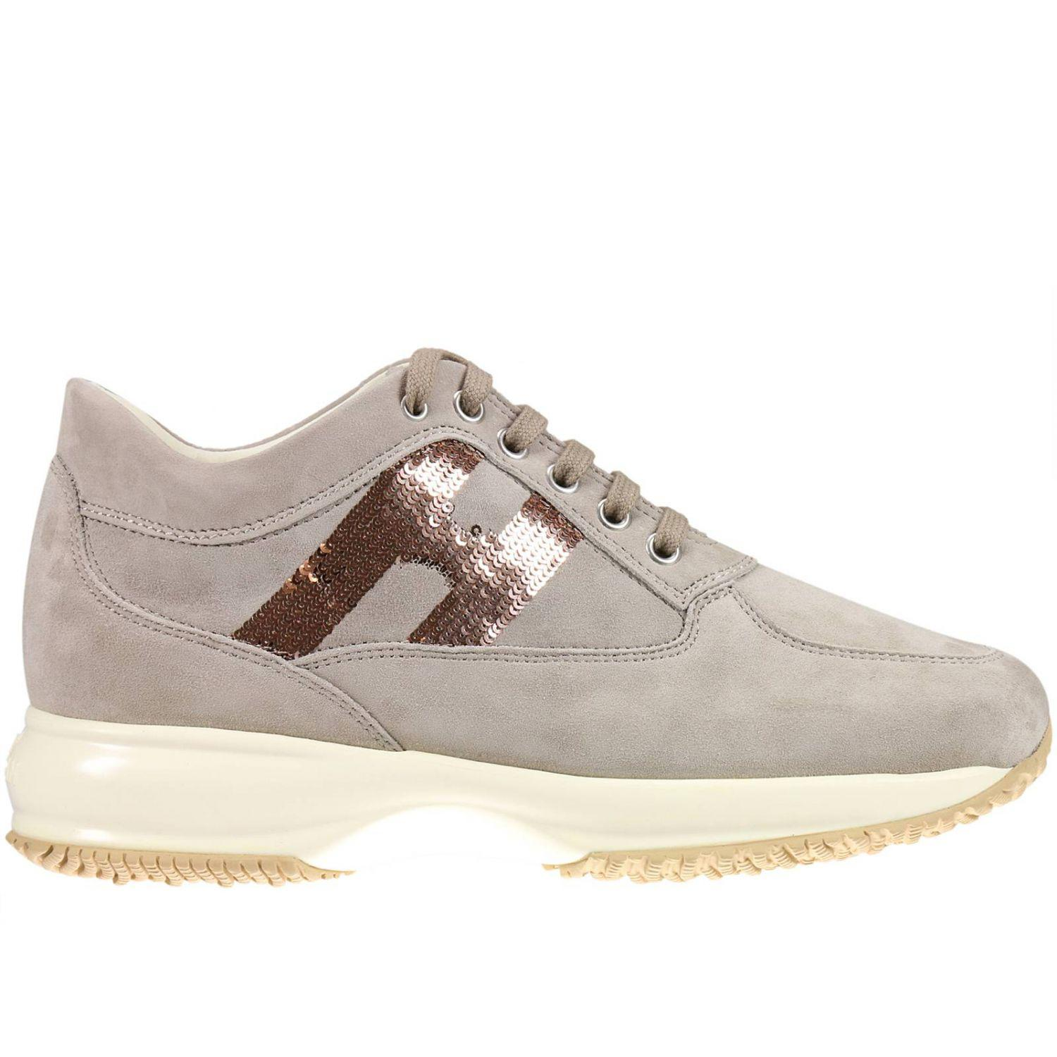 Lyst Hogan Sneakers Shoes Women In Natural