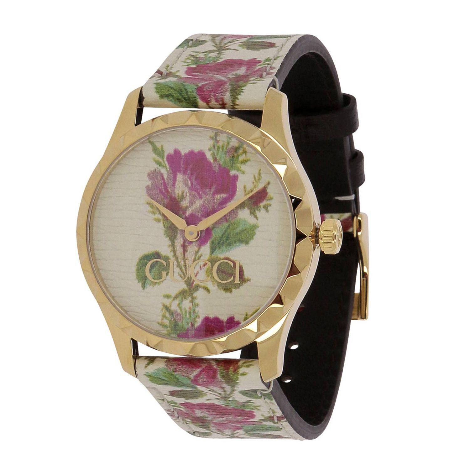 d77075354fc Gucci Watch Men in White for Men - Lyst
