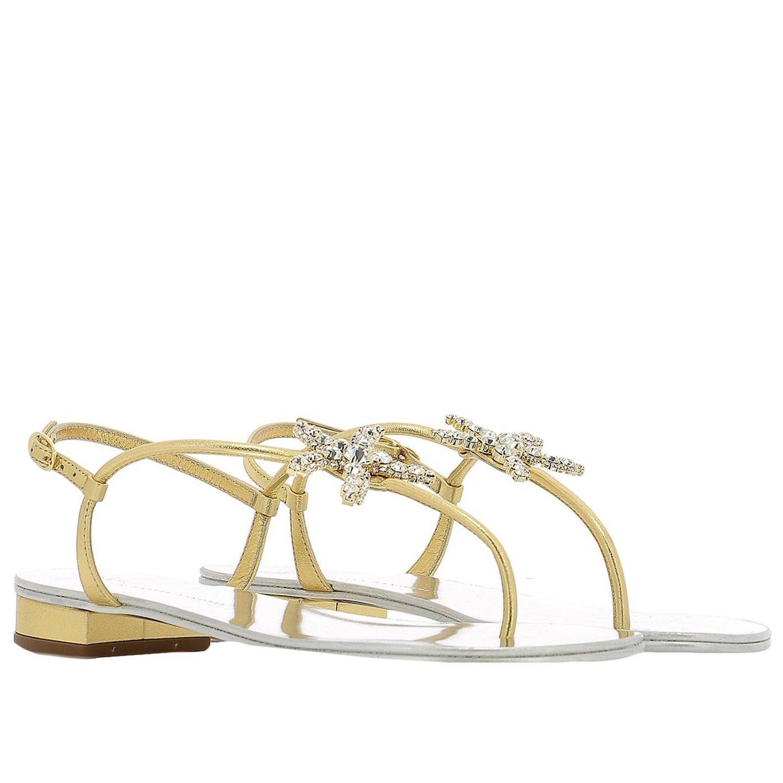 8f86972666ee Giuseppe Zanotti - Metallic Shoes Women - Lyst. View fullscreen
