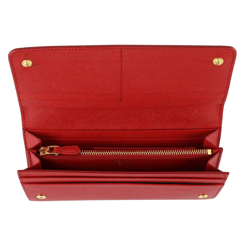 cfe3e667b947 promo code for prada 1m1132 wallets bright red a07e2 0a616