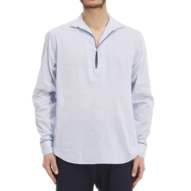 emporio armani giorgio armani mens shirt in white for men