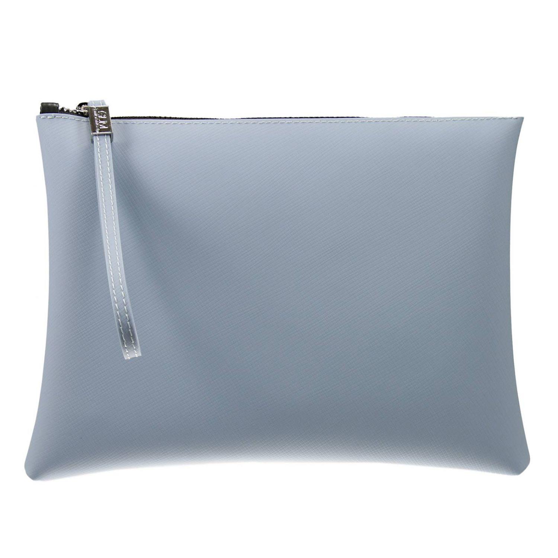 1c96136d19 Lyst - Gum Borsa Pochette Gomma Grande in Blue