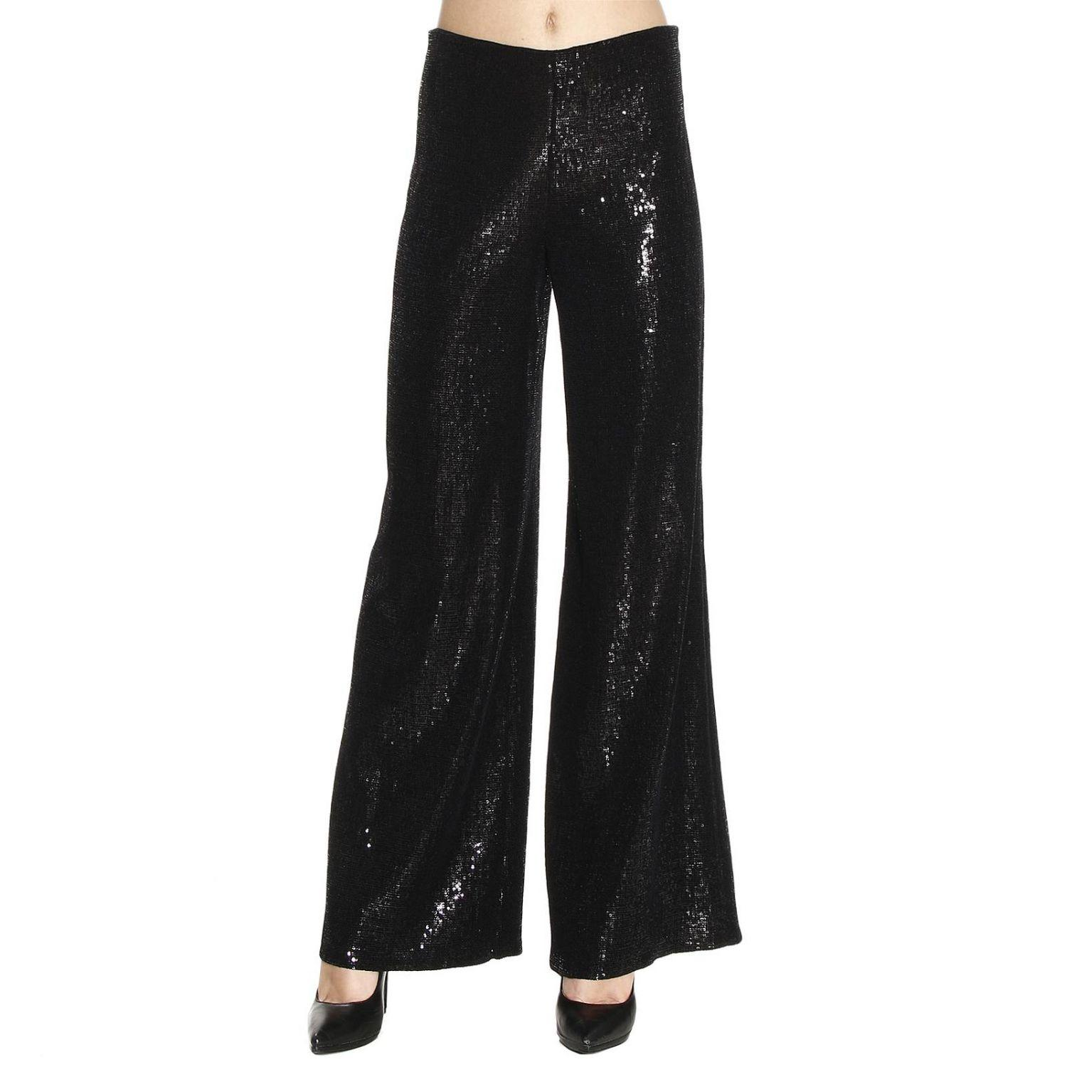 Beautiful The Wide Leg Palazzo Is The Perfect Trouser  With A Sheer Black Blouse Also By Vineyard Vines With Just A Touch Of Sparkle To Add A Little Bit Of Glam Without Taking Away From The Focus Of The Pants I Also Love This Look Because, Women