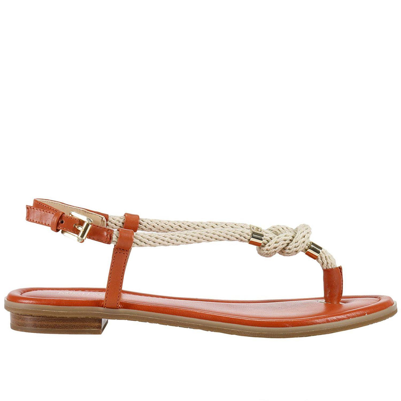 Michael Kors Orange Flat Shoes