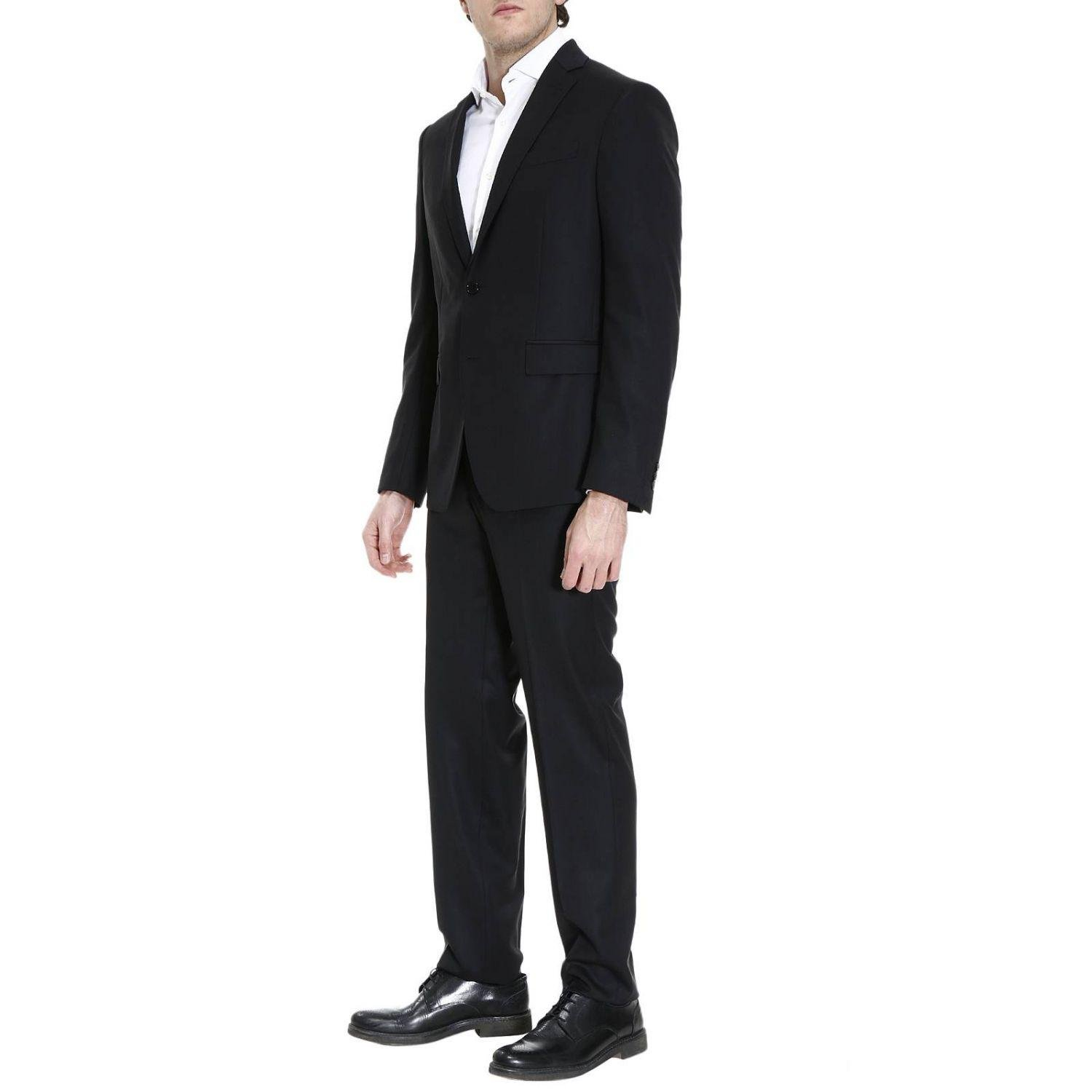 Versace Suits Men In Black For Men