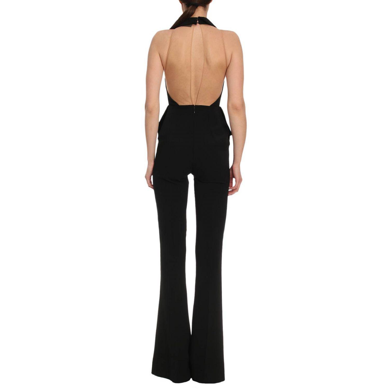 4f881a7416a8 Lyst - Elisabetta Franchi Jumpsuits Women in Black