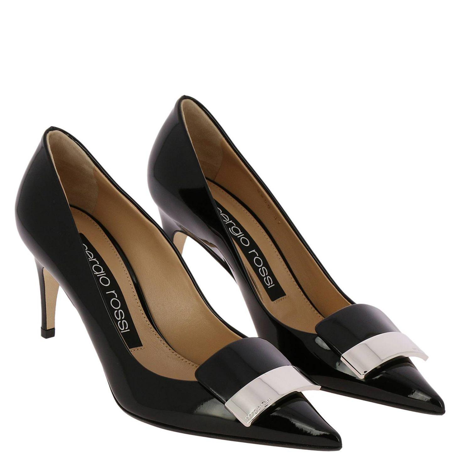 49e6529b705f Sergio Rossi - Black Pumps Shoes Women - Lyst. View fullscreen