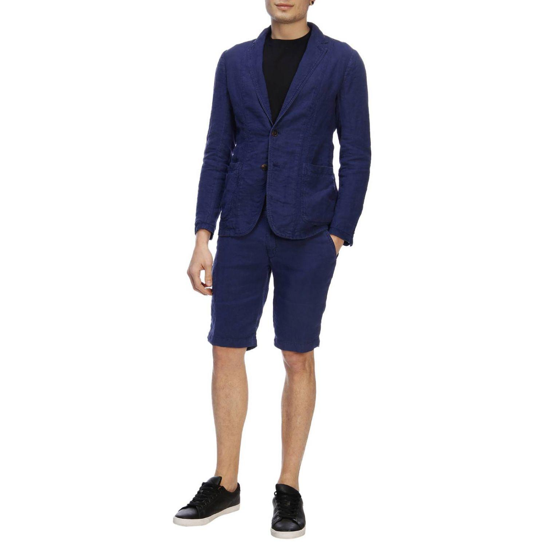 e6d75682 Lyst - Z Zegna Blazer Men in Blue for Men