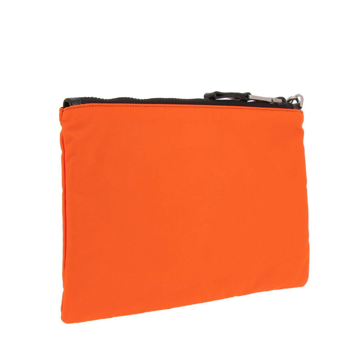 4b5f47d964 Prada Briefcase Bags Men in Orange for Men - Lyst