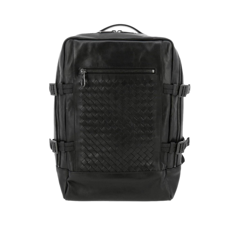 Lyst - Bottega Veneta Backpack Bags Men in Black for Men cc620e7653