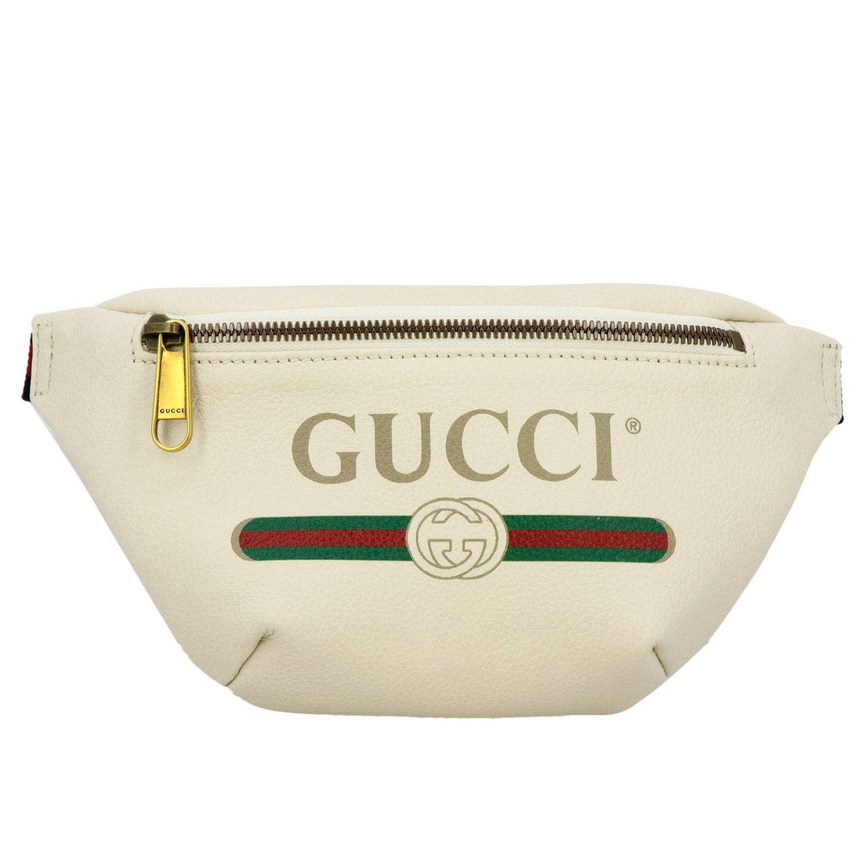 Gucci White Belt Bag Bags Men