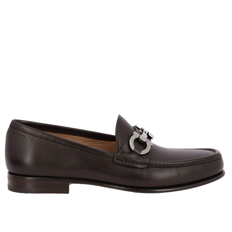 Ferragamo Loafers Shoes Men In Brown For Men Lyst