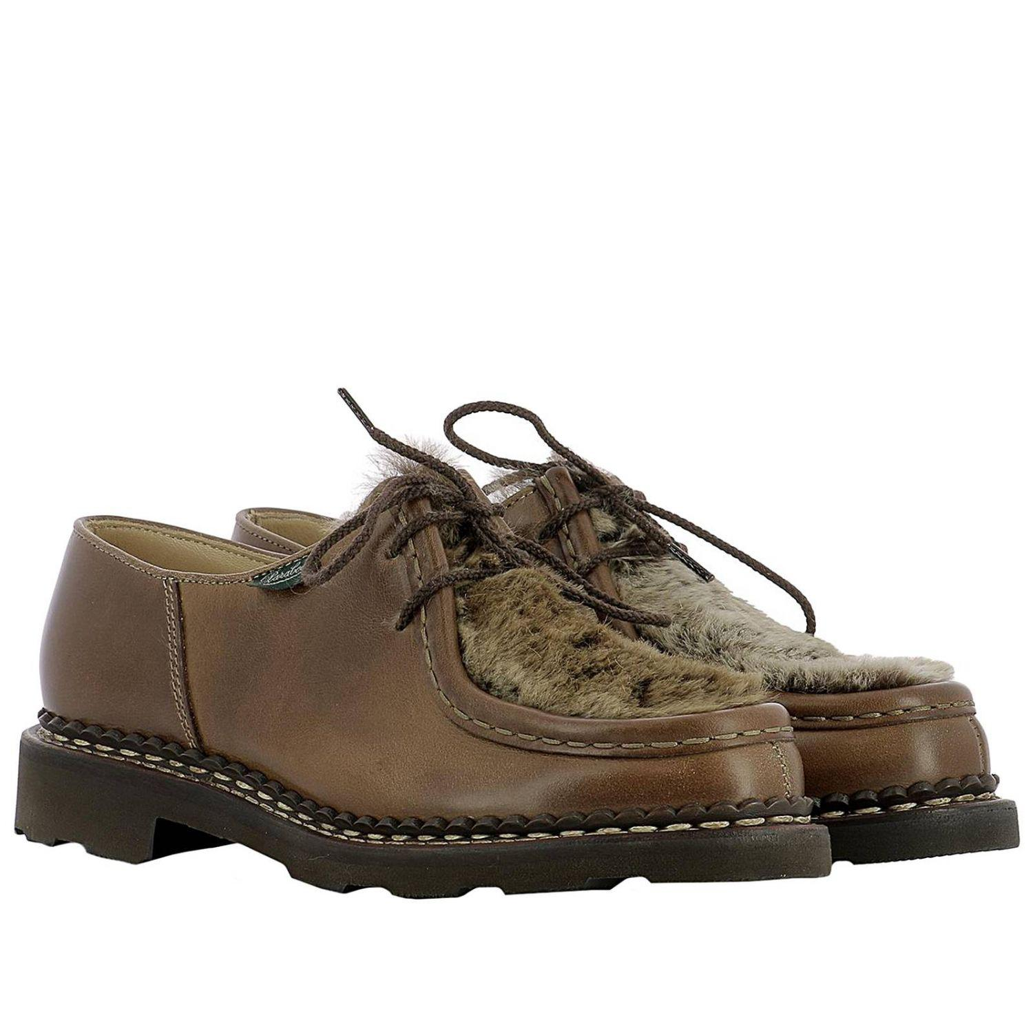 b5b5adbe8e8edf Paraboot Oxford Shoes Women in Brown - Lyst