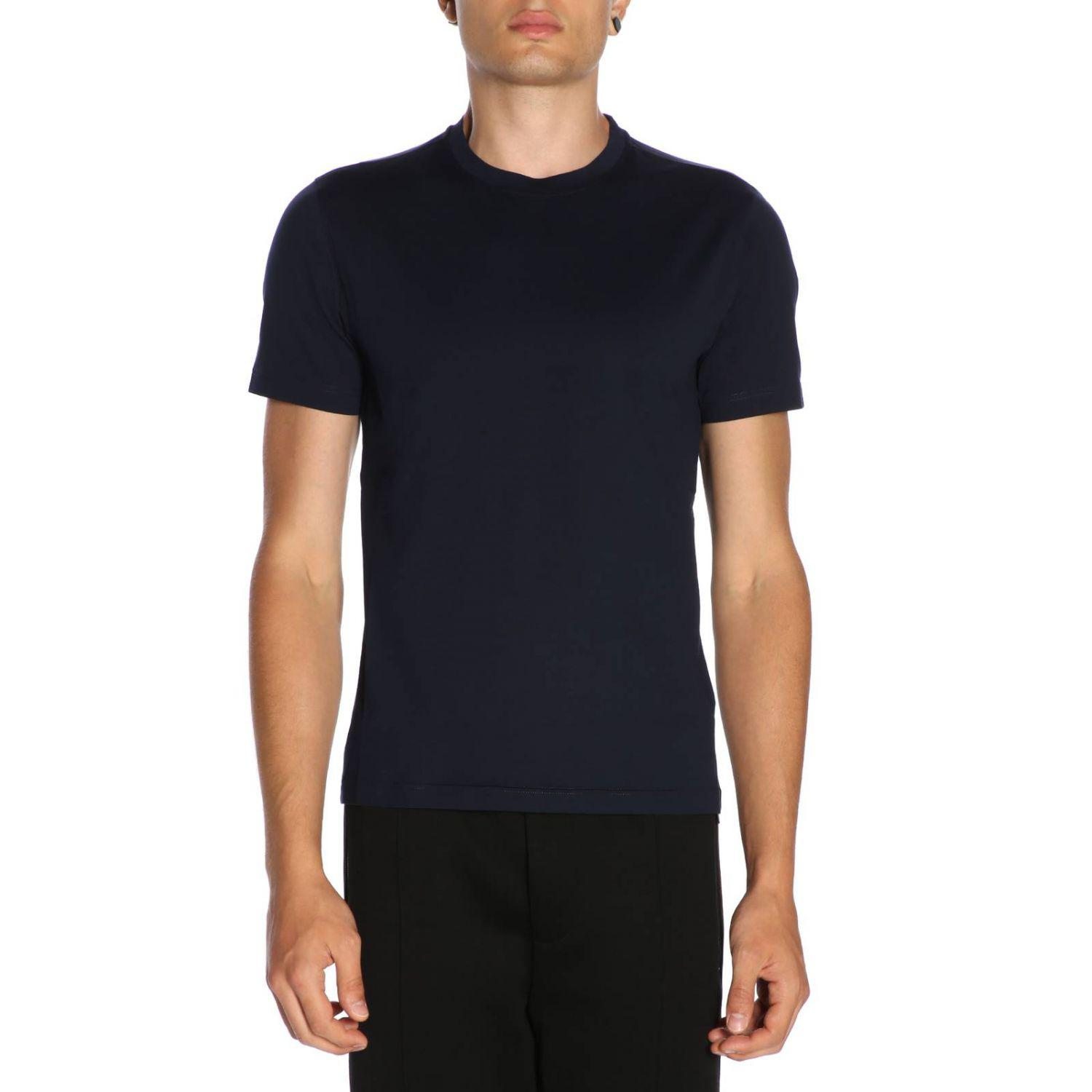 34ebbac6b69e Lyst - Prada T-shirt Men in Blue for Men