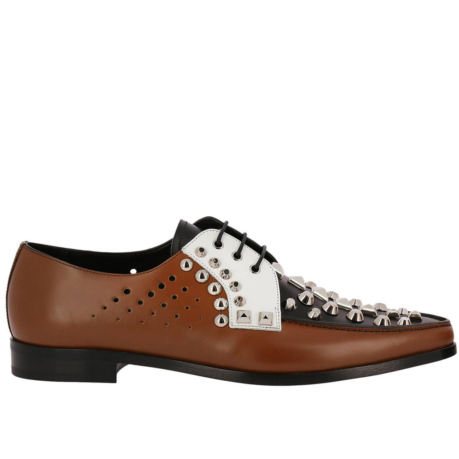 21a842bc82 Prada Loafers Women in Brown - Lyst