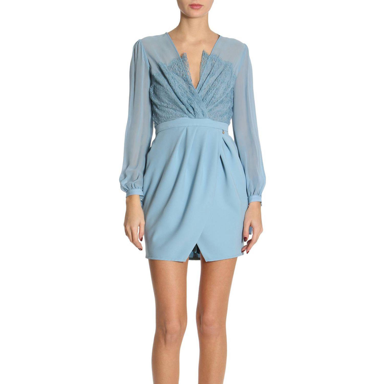 Elisabetta Franchi. Blue Dress Women