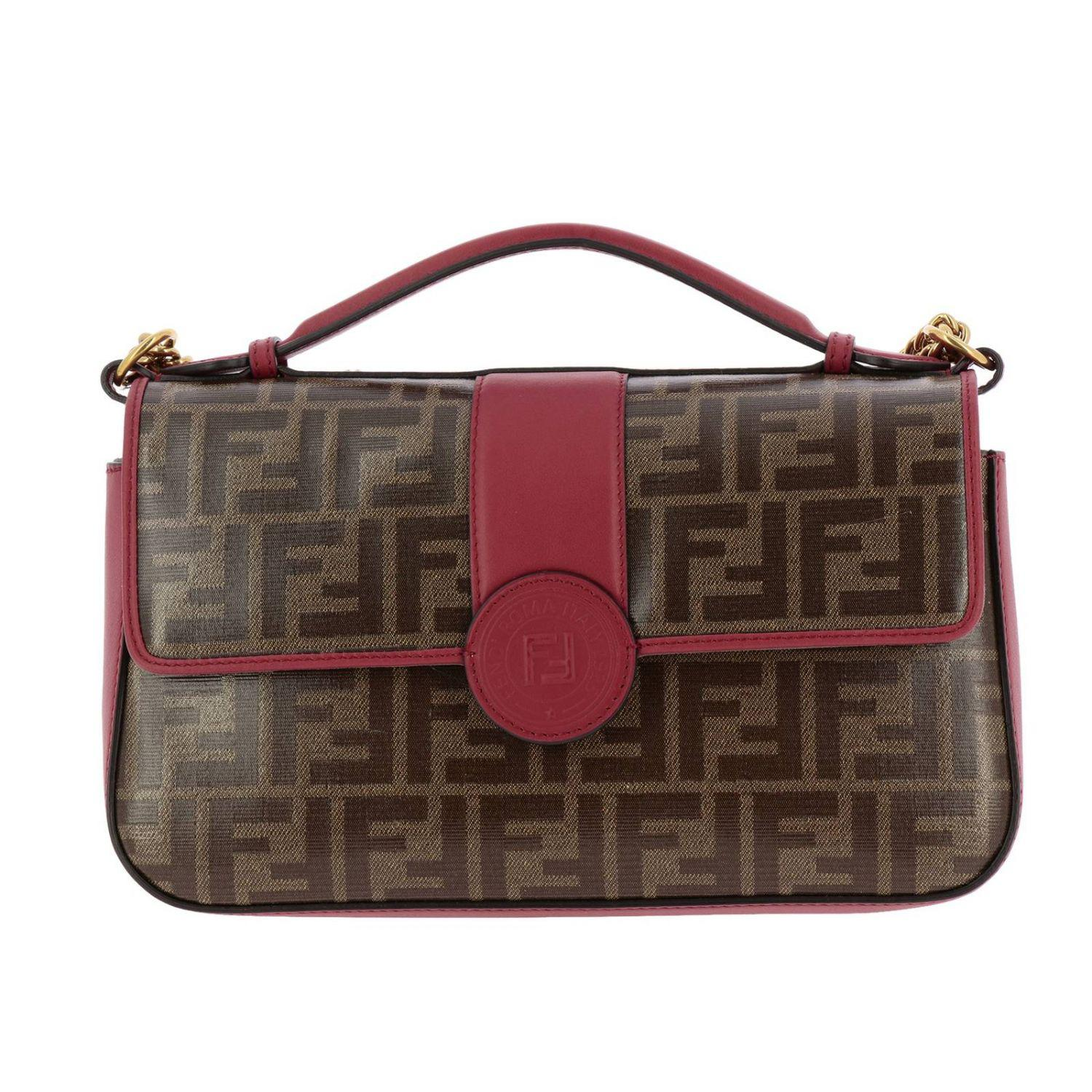 c5315031319a Lyst - Fendi Crossbody Bags Shoulder Bag Women in Red - Save 32%