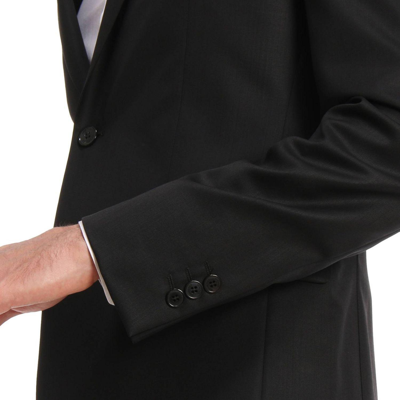 d4e206d32dd Versace - Black Costume homme for Men - Lyst. Afficher en plein écran