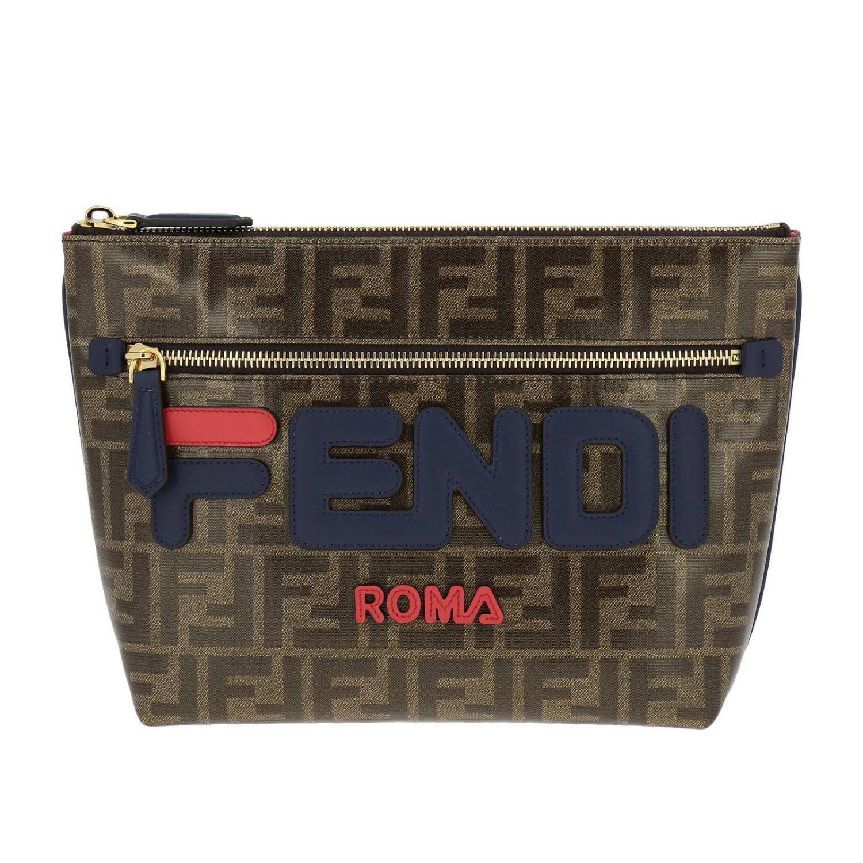 a9f46a4e9cb0 Lyst - Fendi Briefcase Bags Men in Brown for Men - Save 8%