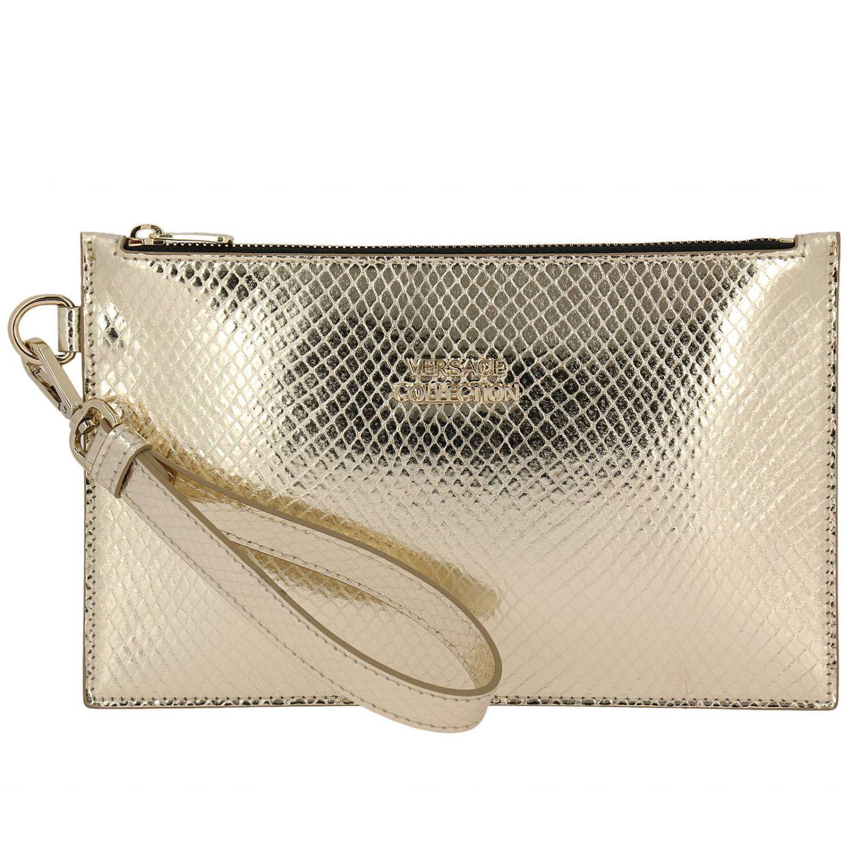 e2b4e27566 Versace Shoulder Bag Women in Metallic - Lyst