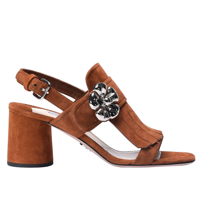 Lyst Prada Shoes Women In Brown