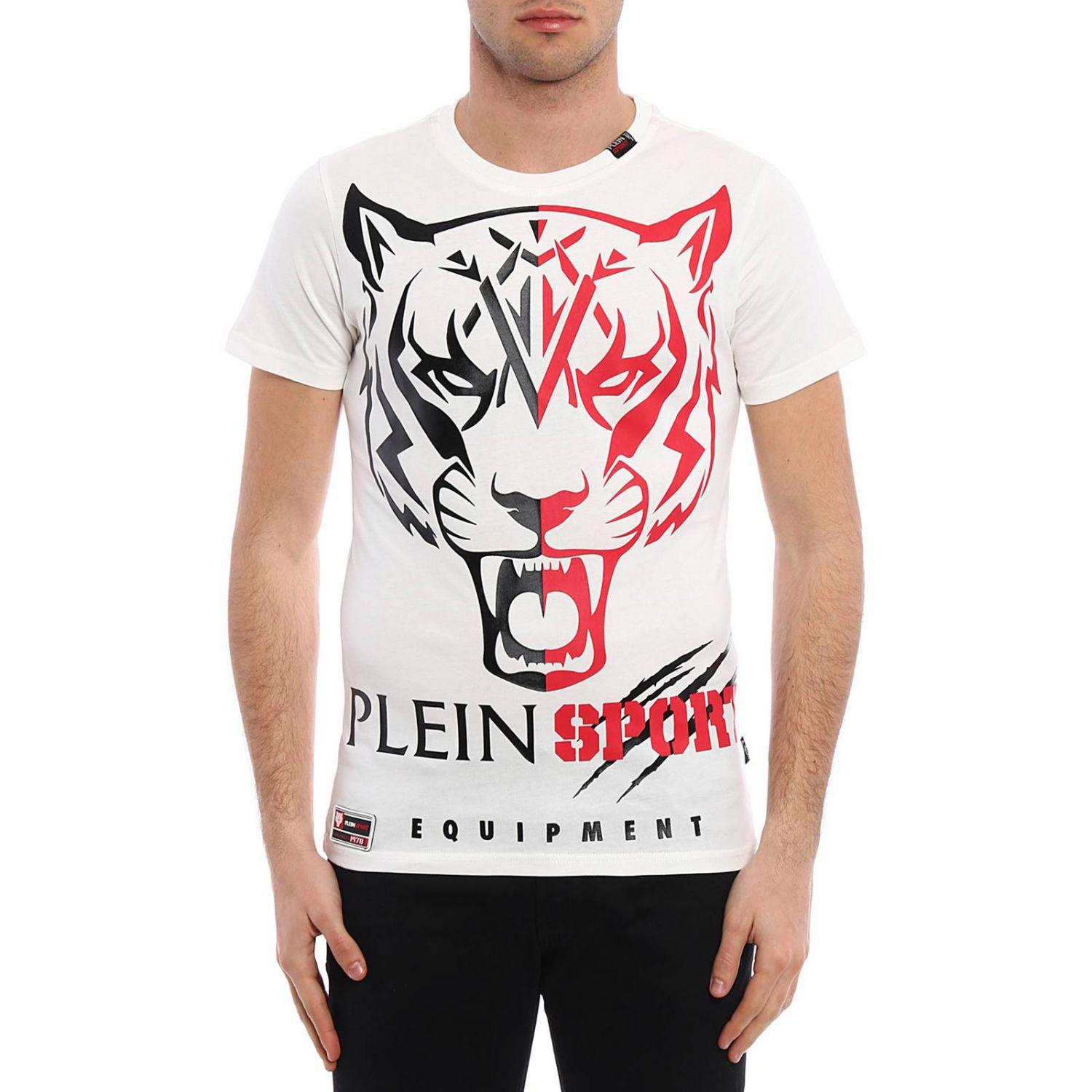 lyst philipp plein t shirt men in white for men. Black Bedroom Furniture Sets. Home Design Ideas