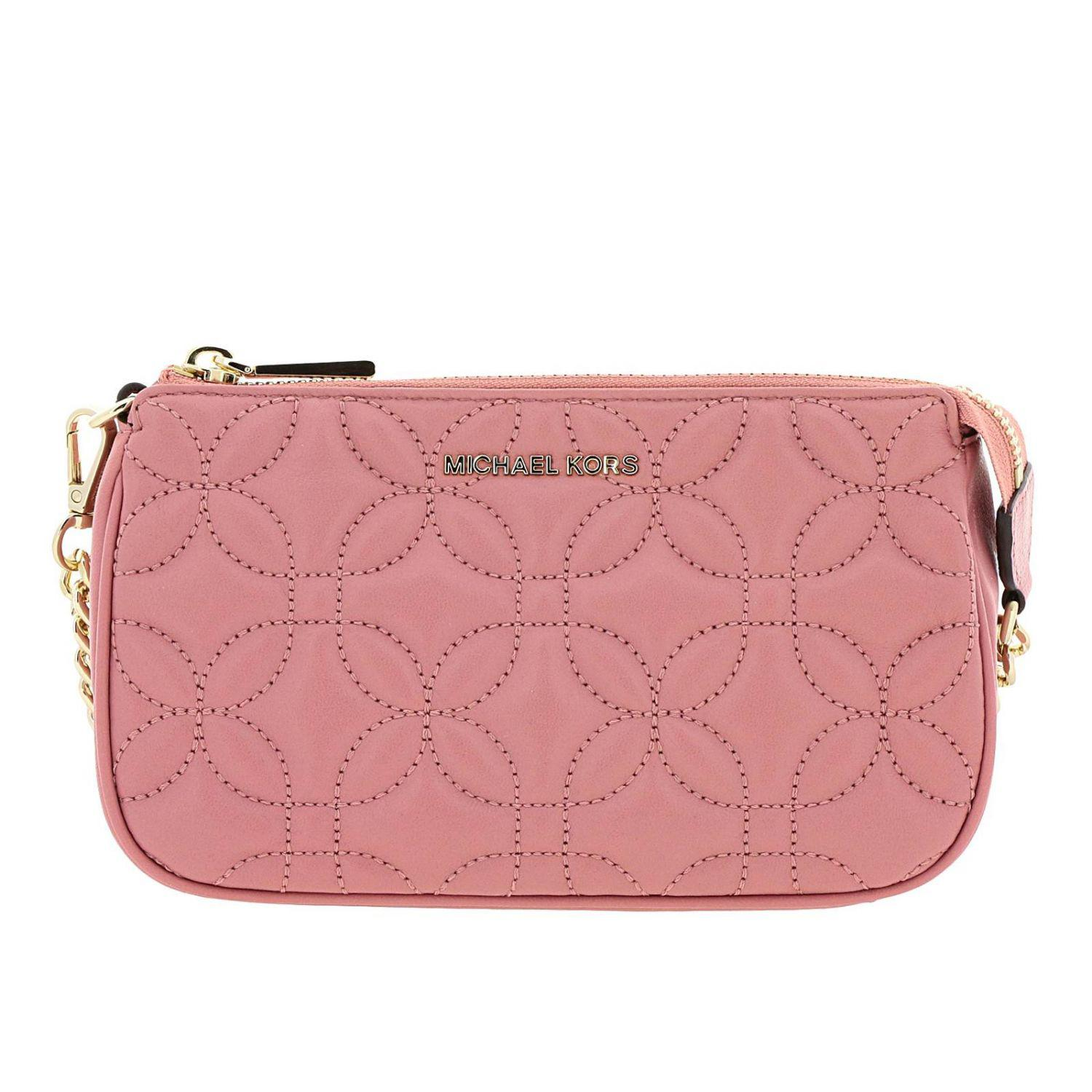 37572872e1a0 Lyst - Michael Michael Kors Clutch Women in Pink