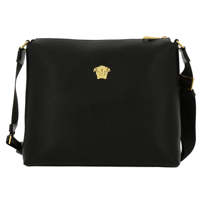 Versace - Black Shoulder Bag Bags Men for Men - Lyst. View fullscreen b04c4ff1f9500