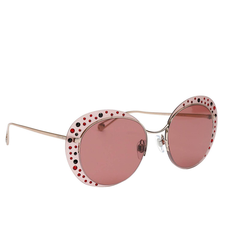 721ba89f5b9d Lyst - Giorgio Armani Glasses Women in Pink