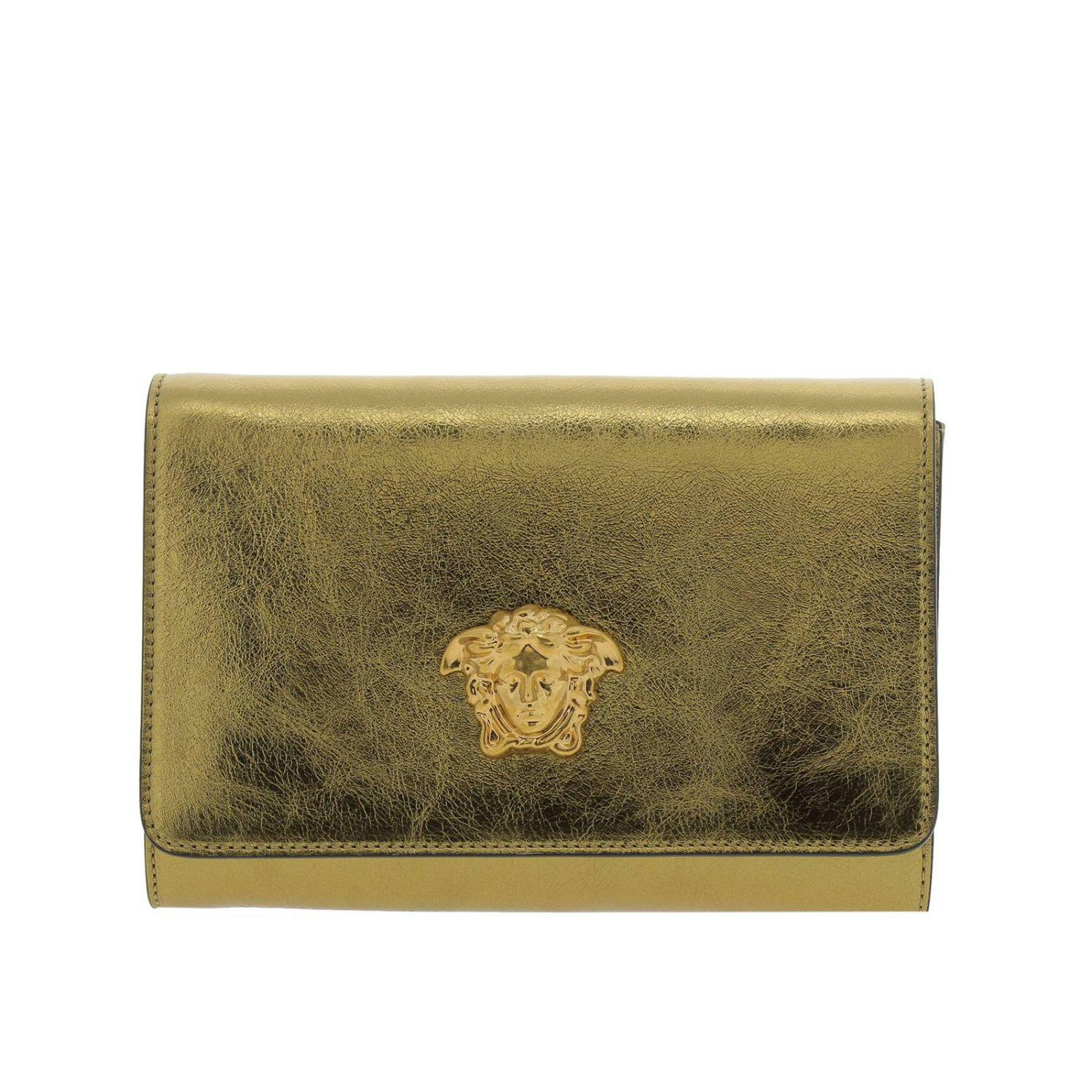 b320092b909f Lyst - Versace Clutch Shoulder Bag Women in Metallic