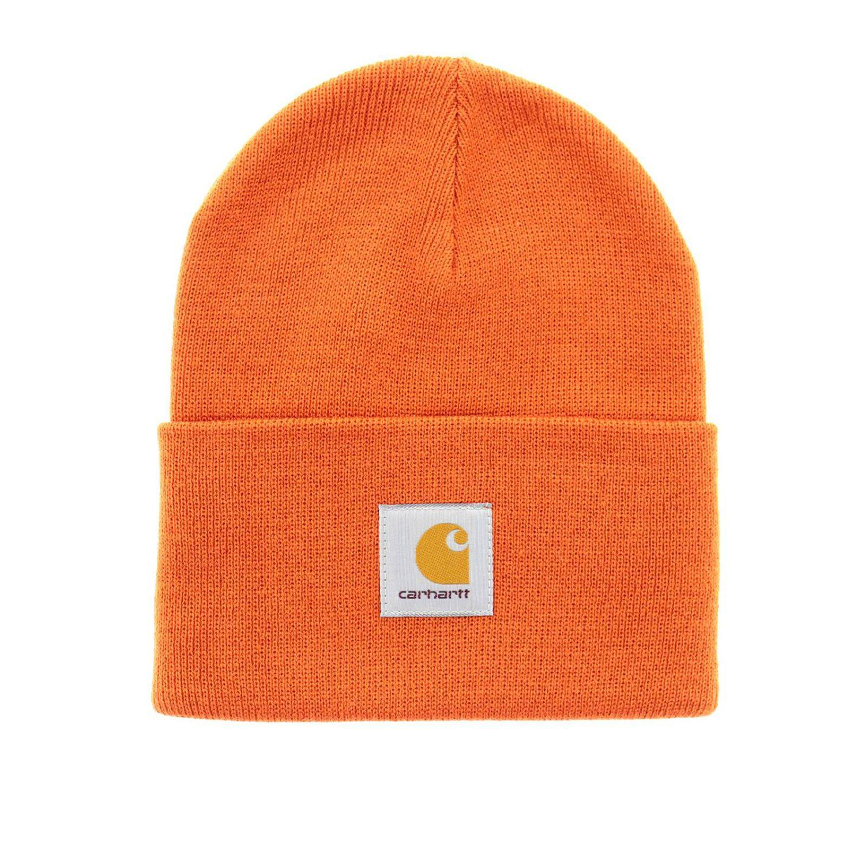 7b9be5291de Carhartt - Orange Hat Men for Men - Lyst. View fullscreen