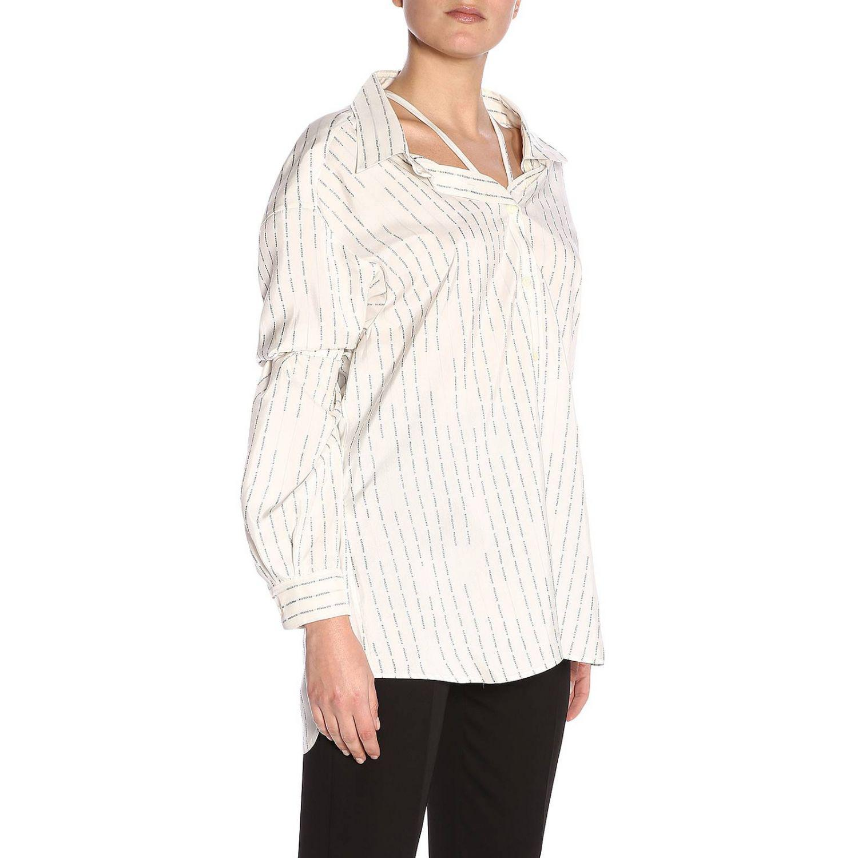 8227b245c9a3f Lyst - Prada Shirt Women in White