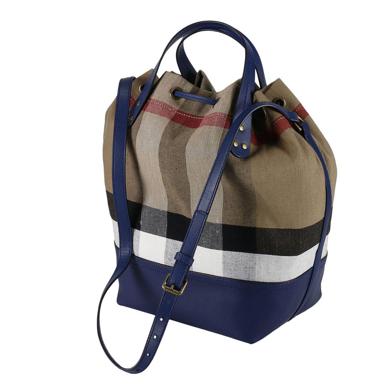 Burberry Handbag Shoulder Bag Women in Blue - Lyst