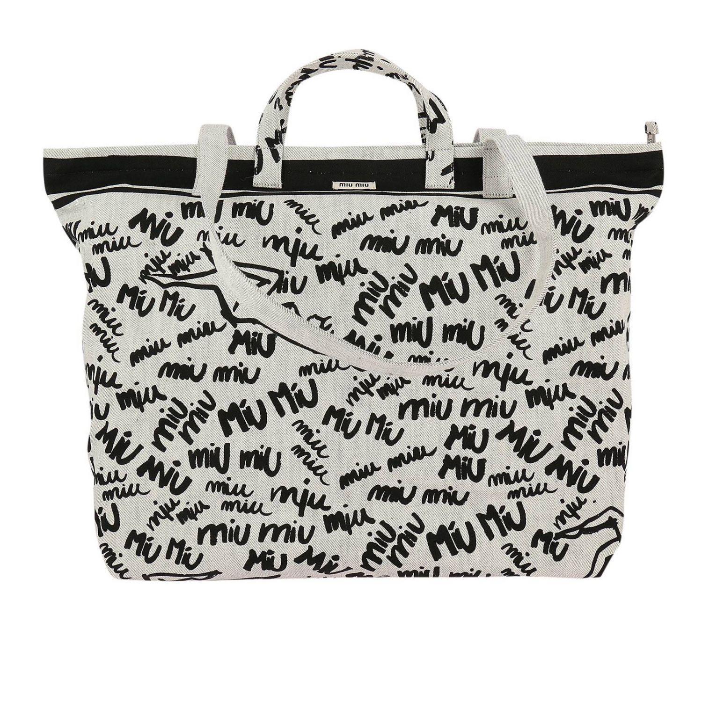 Miu Miu Shoulder Bag Women in White - Lyst 55caa44d9e