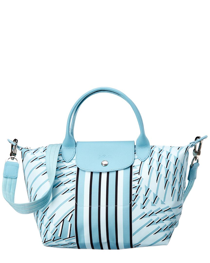 Lyst - Longchamp Le Pliage Neo Pastel Small Nylon Top Handle Tote in ... 6afc93921468c